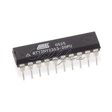 2pcs ATMEL ATTINY 2313 ATTINY2313-20PU DIP-20 MCU AVR CHIP IC new