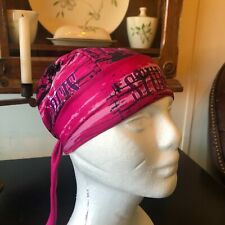 Schampa Skull Cap, Head Wrap, Do Rag, Pink from Sturgis Ladies Can Ride