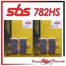 Pastiglie Anter SBS HS Sinter Per TRIUMPH STREET TRIPLE R 675 2011 2012 (782 HS)