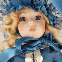 Vintage 1988 Nicole Reproduction Bru Jne 6 Antique Doll by Hamilton Collection