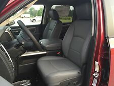 2014 2015 2016 2017 RAM 1500 GRAY GREY KATZKIN LEATHER SEAT REPLACEMENT COVERS