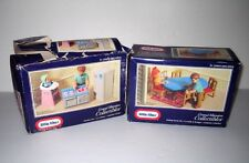 Vintage LITTLE TIKES Grand Mansion Dollhouse Furniture