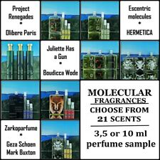 🖐 Escentric Molecules - Choose of 18 scents 👉 3,5 or 10ml perfume sample 👍