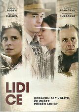 Lidice (2011) dvd Czech true story WW2 tragedy English + multisubbed sealed dvd