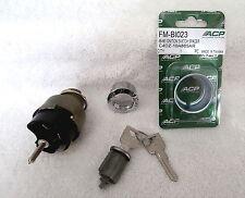 1965-66 Ford Mustang Ignition Switch, Bezel, Cylinder,Keys Complete Kit