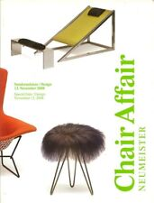 NEUMEISTER Design Chair Panton Thonet der Rohe Weiwei Auction Catalog 2008