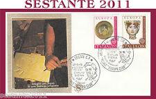 ITALIA FDC FILAGRANO 1976 ARTIGIANATO ITALIANO INTAGLIO LEGNO ANN. TRIESTE G684
