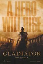 Gladiator Adv Original Movie Poster Double Sided 27x40