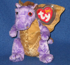 TY LEGEND the DRAGON BEANIE BABY - MINT with MINT TAG