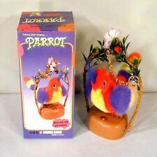 RECORDING PARROTS novelty bird toys talking toy birds talk back repeating new