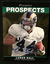 LANCE BALL 2008 SP Rookie Edition AUTOGRAPH Card PREMIER PROSPECTS #283 Rams
