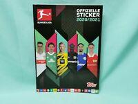 Topps Bundesliga Sticker 2020/2021 Sammelalbum Album Leeralbum 20/21