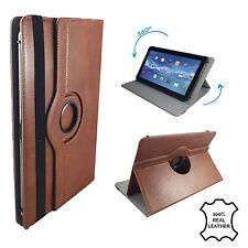 "Leder Tablet Case Point of View Mobii Kids Schutzhülle Etui Leder Braun 7"" 360"