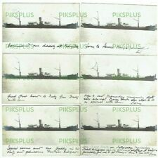 More details for old postcards cargo / passenger ship