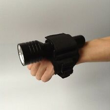 Scuba Dive Torch Light Hand Free Holder Handmount Miltary style For Flashlight