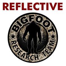 Reflective Bigfoot Research Team Camo Sticker Car Truck Bumper Vinyl Fs384