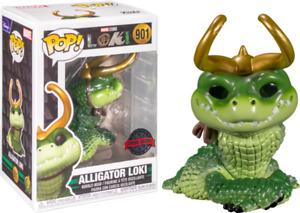 Loki (2021) - Alligator Loki EXCLUSIVE Pop! Vinyl Figure + POP PROTECTOR