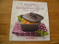 Tupperware++ Rezeptheft``Ultra Pro Gartöpfchen 500ml++ NEU