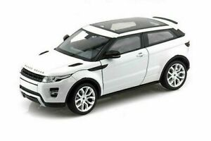 WELLY 1:24 SCALE LAND ROVER RANGE ROVER EVOQUE SUV w/SUNROOF DIECAST CAR 24021WH