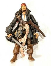 """CAPTAIN JACK SPARROW * Pirates of the Caribbean 3.75"""" * Good- Condition"""