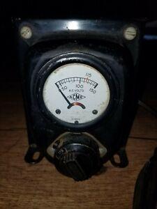Vtg Acme Voltage Transformer Type No T-8394 M USA Acme Electric Corp