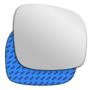 Right wing adhesive mirror glass for Chrysler Grand Voyager 2008-2015 379RS