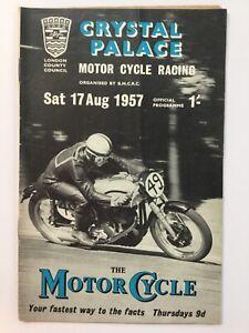 Crystal Palace Motor Cycle Race 1957