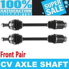 Front 2x CV Drive Axle Shaft for CADILLAC DEVILLE 00-05 DTS 06-11 SEVILLE 98-04