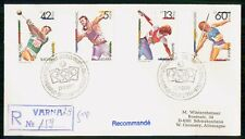 Mayfairstamps Bulgaria 1990 Olympic Sports Combo Reg Varna Cover wwk_49807