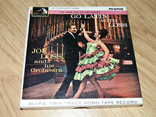 "Joe Loss & His Orchestra ""Go Latin"" 3 1/4 i.p.s Twin Track Mono Tape Record"
