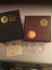 2008 Gold  PROOF HALF Sovereign With Box and COA from Royal Mint