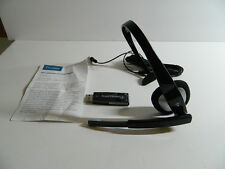 Plantronics Audio 610 Headband Headset with USB Adapter **Free Shipping**