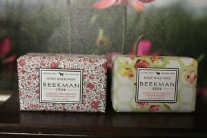 Soap Beekman 1802 Apricot Honey Honeyed Grapefruit 9 oz bars
