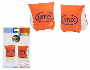 Intex Deluxe Childs Inflatable Swimming Arm Bands. Ages 3 - 12 Years