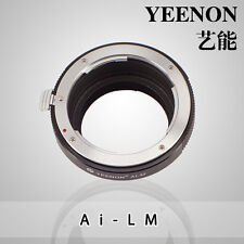 YEENON Nikon AI Mount  to Leica M Mount Adapter (No rangefinder coupled )