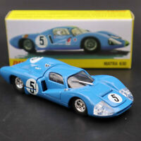 1:43 Atlas Dinky Toys 1425E Blue MATRA 630 ALLOY #5 Diecast Models Car Gifts