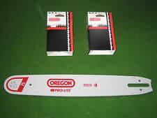 Oregon Schwert 40 cm + 2 Oregon Vollmeisselketten für Stihl Motorsägen 3/8