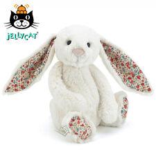 NEW Jellycat Blossom Bashful Cream Bunny Medium 31cm soft toy Floral Jelly Cat
