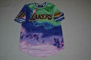 LOS ANGELES LAKERS  Pro Standard DIP-DYE  T-Shirt  MULTI MENS TEE ALL SIZES NEW