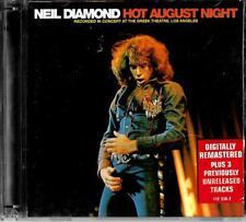 Neil Diamond (digitally remastered)2cd set ft bonus tracks - Hot August Night