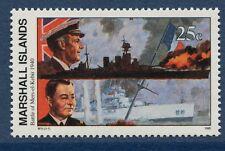 Marshall Islands 1990 World War 2 WW II Scott 255 Mers-el-Kebir Ships W11 NH