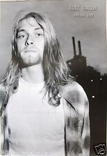 "Nirvana ""Kurt Cobain By Factory Smokestacks"" Poster From Asia -Grunge Rock Music"