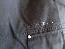 Grind men's black cargo shorts size XL nylon solid flat zip fly