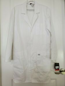Dickies EDS White Lab Coat XS New!