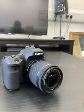 Canon EOS 80D fotocamera (OTTURATORE ROTTO)