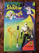 New Kenner 1994 The Shadow Dr. Mocquino  w/ Mace & Attacking Staff 5-Inch Figure