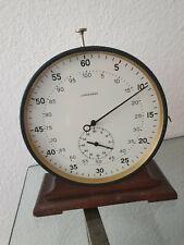 Sekunden Stoppuhr Junghans 1958* Gehäuse Durchmesser 21cm, Made in Germany