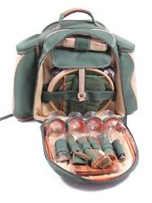 More details for concept picnic rucksack, insulated for drinks and food for 4 people backpack vgc