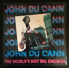 JOHN DU CANN THE WORLD'S NOT BIG ENOUGH LP British pub rock punk new sealed