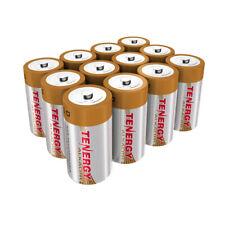 Tenergy 12PCS 1.5V D Size LR20 Alkaline Batteries Replacement Batteries Cell D
